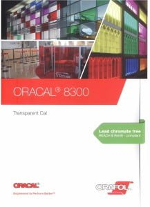 Oracal 8300 Transparent Cal