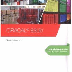 Oracal 8300 Transparent Cal