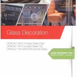 Oracal Glass Decoration